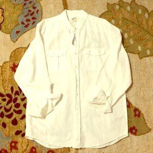 Old Navy Men's linen button up shirt